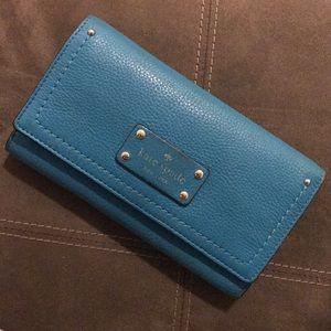 💙 Blue 💙 Kate Spade Wallet